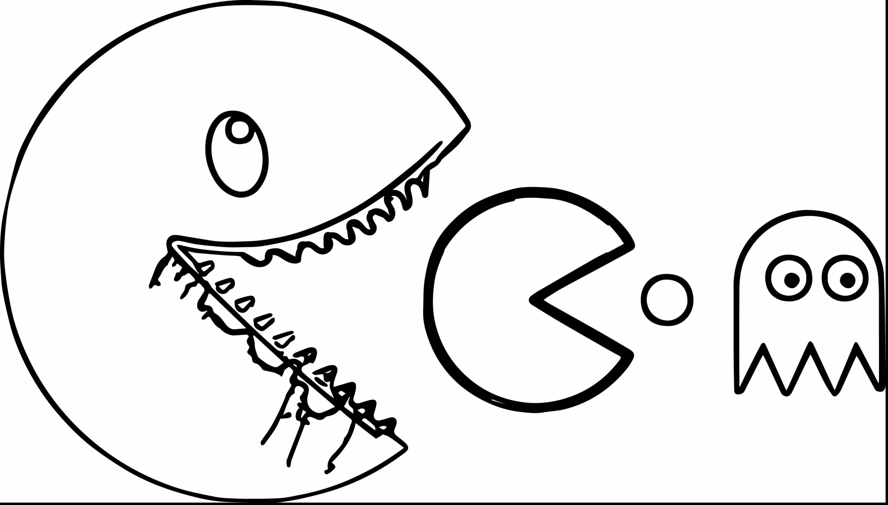 3687x2098 Pacman Coloring Pages Coloringsuite Com Within