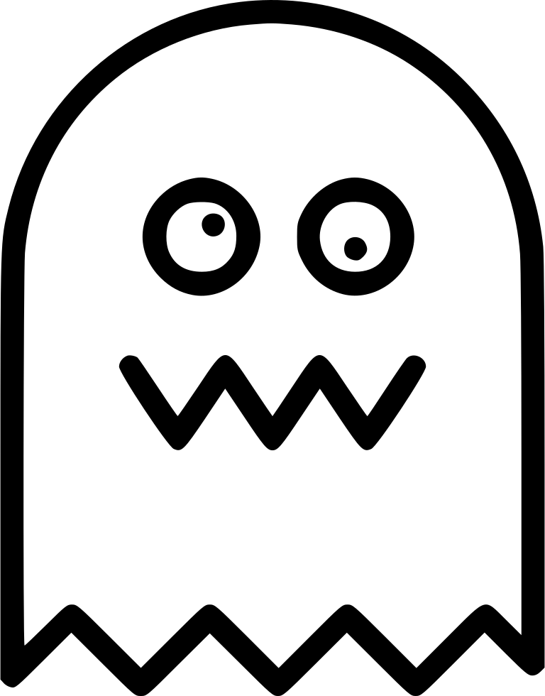 768x980 Pacman Ghost Svg Png Icon Free Download ( 442942)
