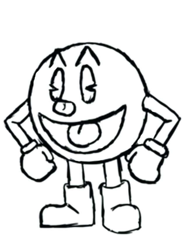 638x825 amazing pac man coloring pages for ghosts coloring pages 12 pixels
