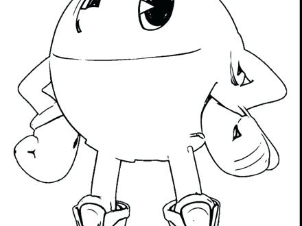 440x330 This Is Pacman Coloring Pages Pictures Coloring Book Coloring