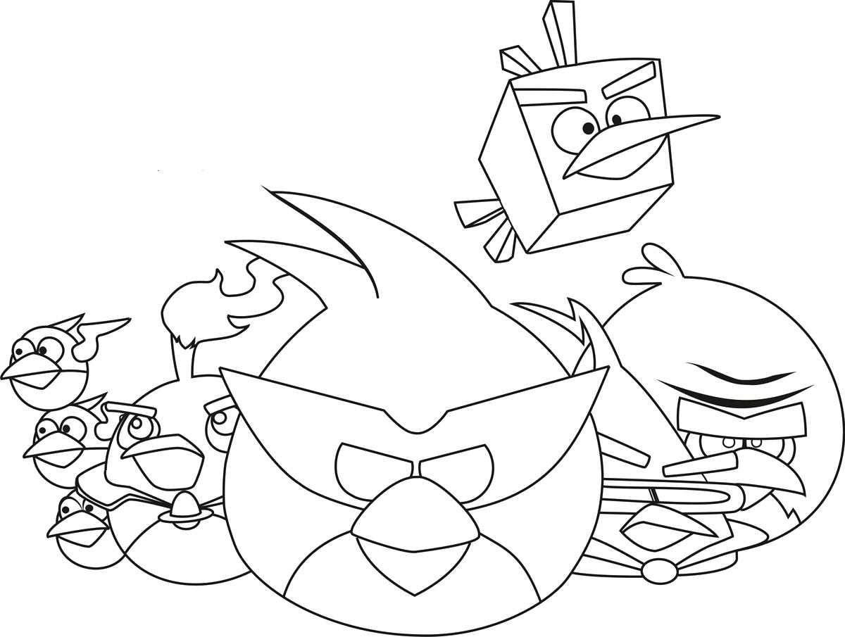 1200x905 Coloring Pac Man Coloring Page Angry Birds Pages Online Ghost