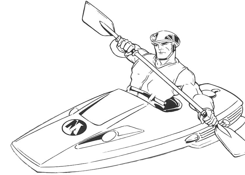 840x600 Action Man With Boat Coloring Page Action Man Coloring Page