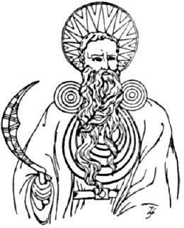 260x321 An Arch Druid From Pagan Great Britain In His Ceremonial Robes