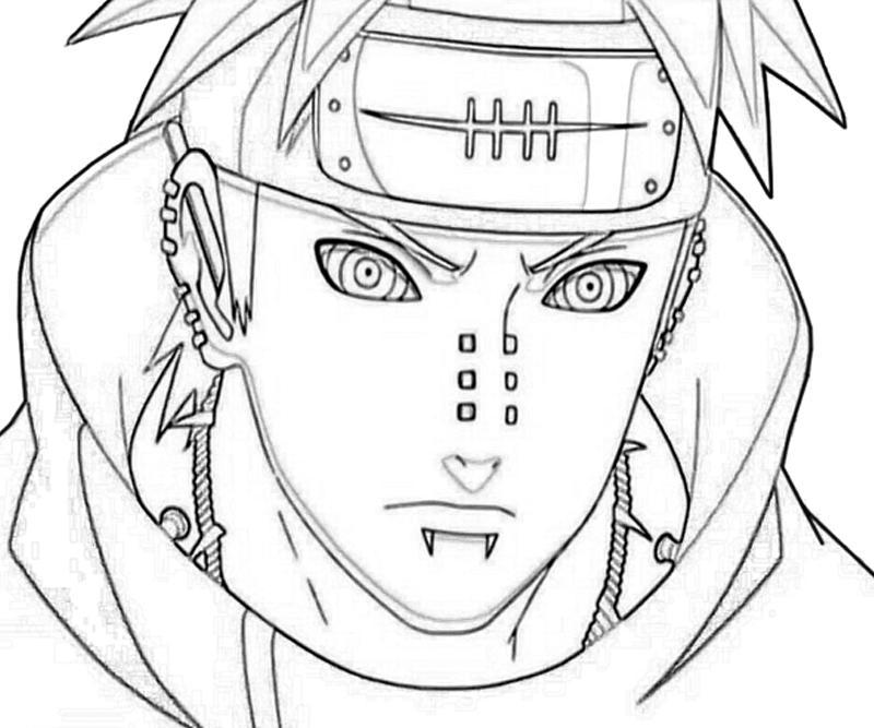 800x667 Naruto Yahiko Portrait Art Paper