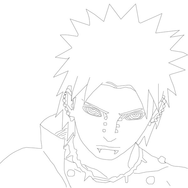 Pain Drawing Naruto At Getdrawings