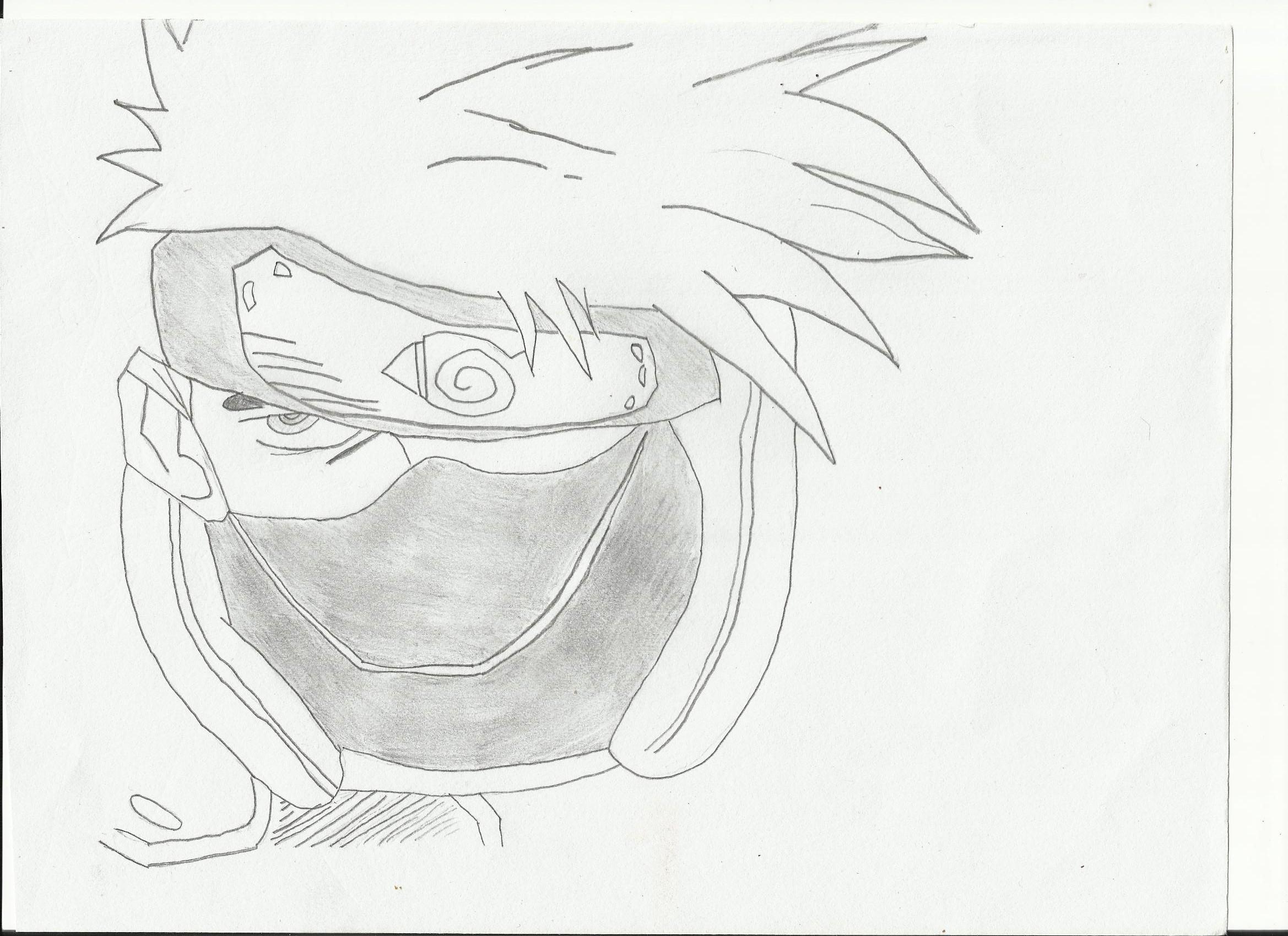 2338x1700 Graffiti Character Naruto Naruto Shippuden, Pain Drawing