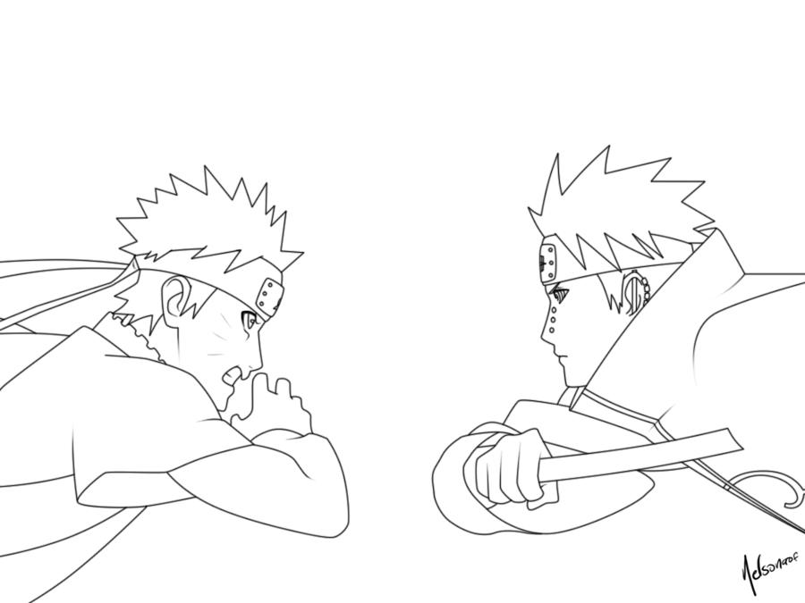 Pain Naruto Drawing At Getdrawings Free Download