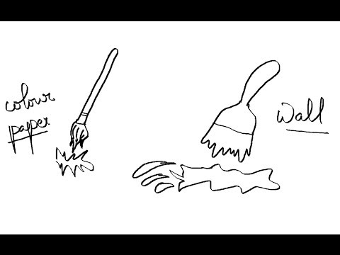 480x360 Easy Kids Drawing Lessons How To Draw A Cartoon Paint Brush