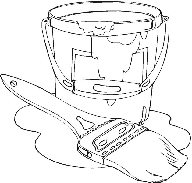 Paint Can Drawing at GetDrawings.com | Free for personal use Paint ...