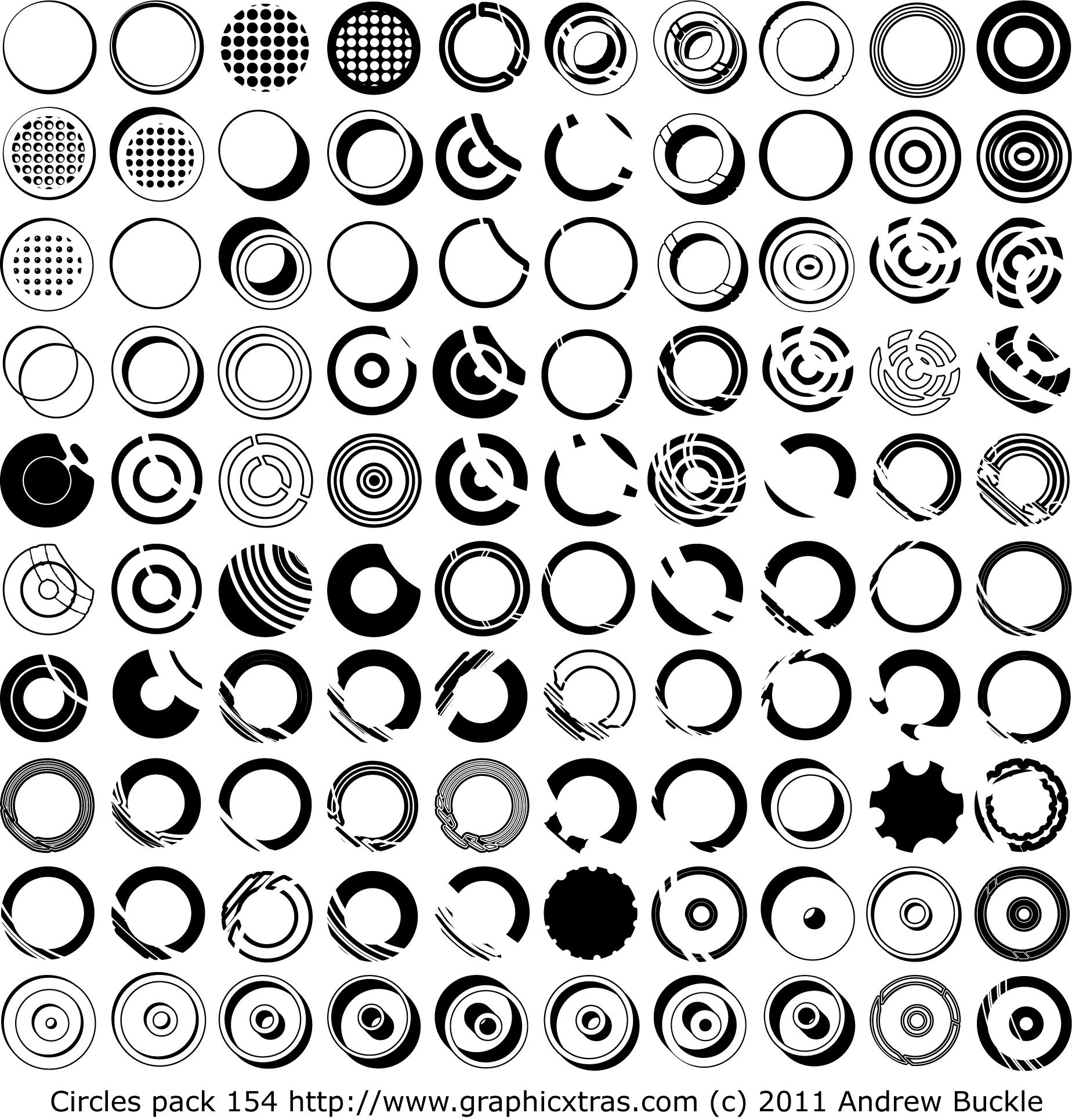 1848x1930 Circle Fonts Royalty Free