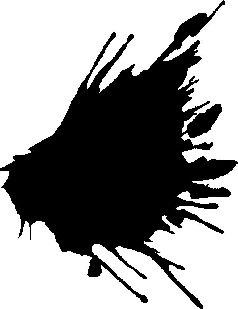 771x1000 20 Black Paint Splatters (PNG Transparent) Vol. 1