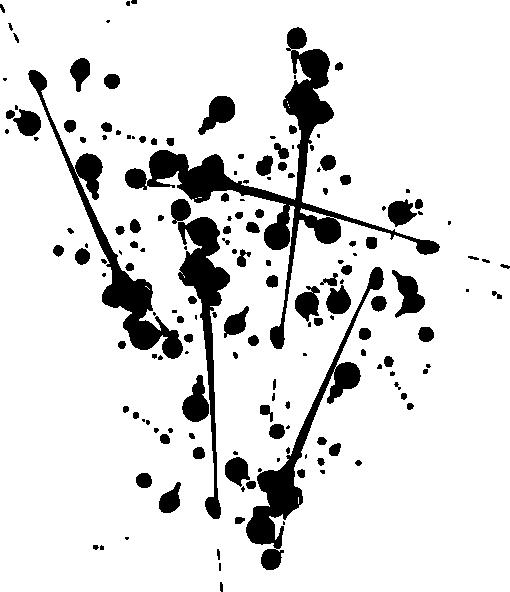 510x592 Black Paint Splat Clip Art