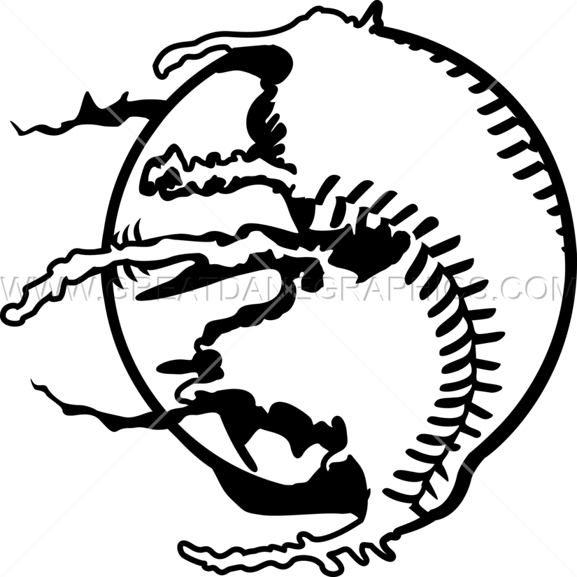 825x824 Paintball Baseball Production Ready Artwork For T Shirt Printing