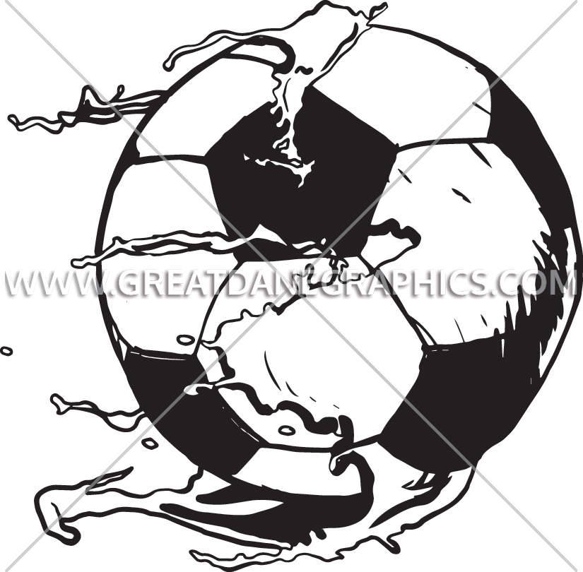 825x810 Paintball Soccer Production Ready Artwork For T Shirt Printing