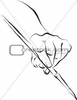 262x340 Image 2006739 Hand Painting Brush From Crestock Stock Photos