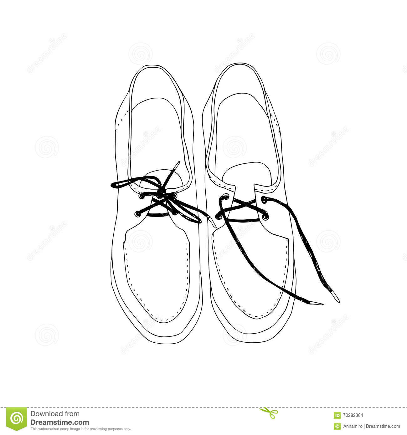 1300x1390 Pair Of Shoes Drawing Pair Of Shoes. Hand Drawn Design. Stock