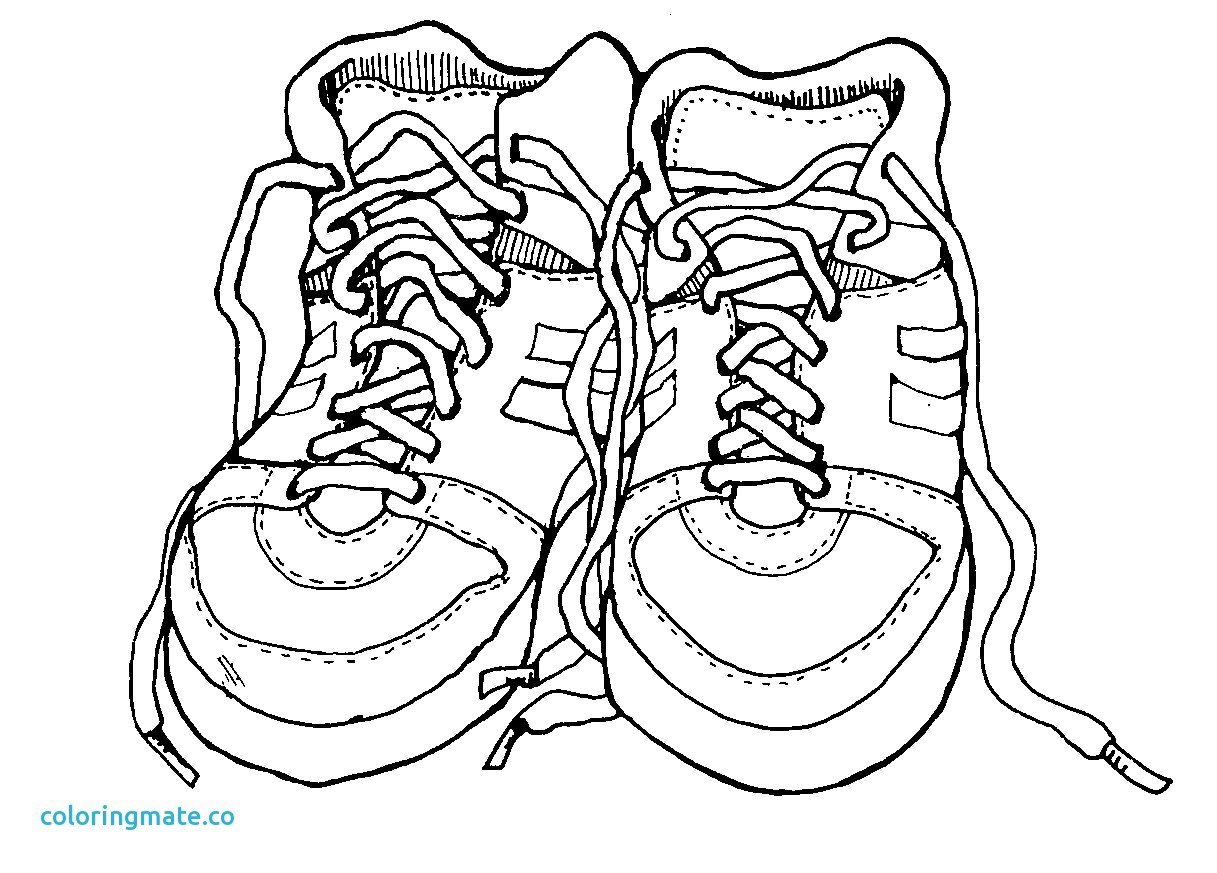 1217x873 40 Coloring Pages Shoes