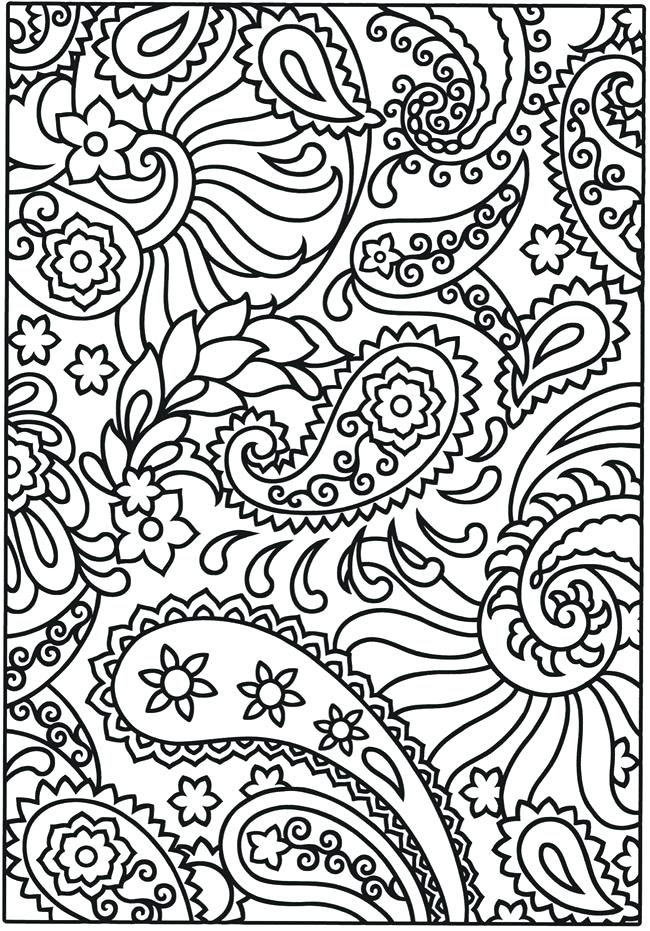 650x931 Coloring Design Pages Geometric Tessellation With Rhombus Pattern