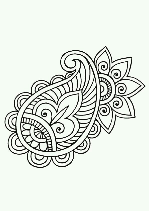 595x842 Drawing Paisley Best 25 Paisley Drawing Ideas On Paisley