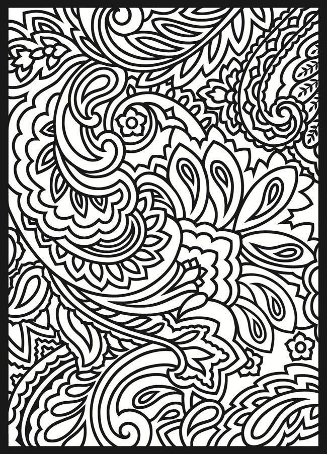 650x903 Art Pictures To Color 25 Unique Paisley Ideas
