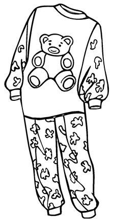 pajamas drawing at getdrawings com free for personal use pajamas