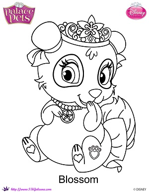 300x388 Princess Palace Pets Blossom Coloring Page By Skgaleana