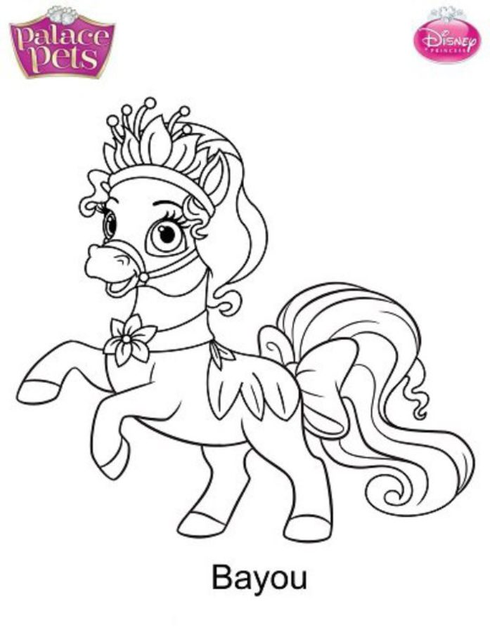 697x900 Coloring Pages Palace Pets, Printable For Kids Amp Adults, Free