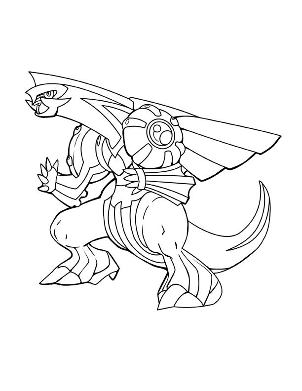 612x792 Ink Palkia Pokemon By Charfade