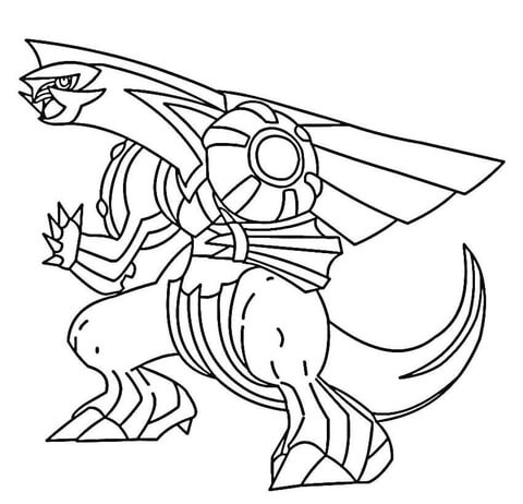480x462 Palkia Coloring Page Free Printable Coloring Pages