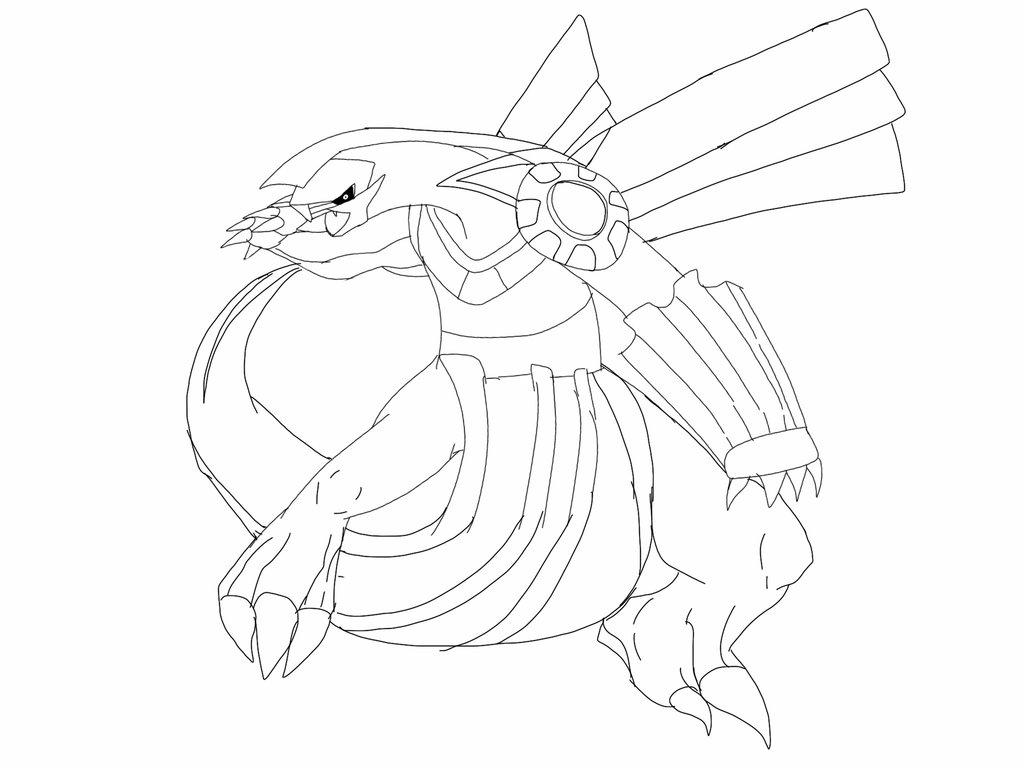 1024x768 Palkia Sketch By Blackdragon Studios