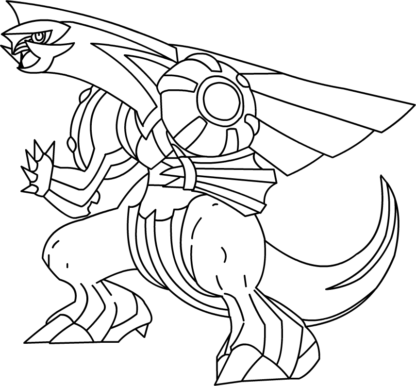 Palkia Drawing at GetDrawings.com | Free for personal use Palkia ...