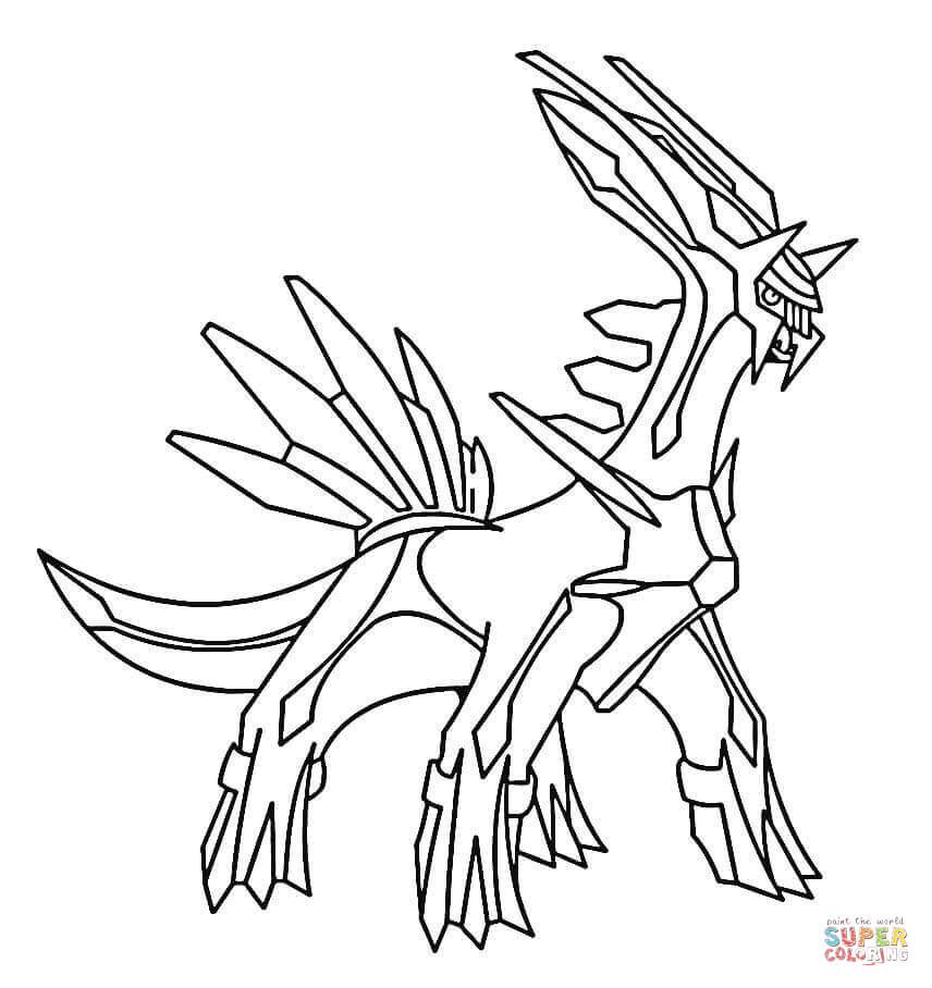 856x908 Dialga Coloring Page Free Printable Coloring Pages