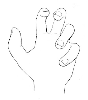 283x320 How To Draw A Hand