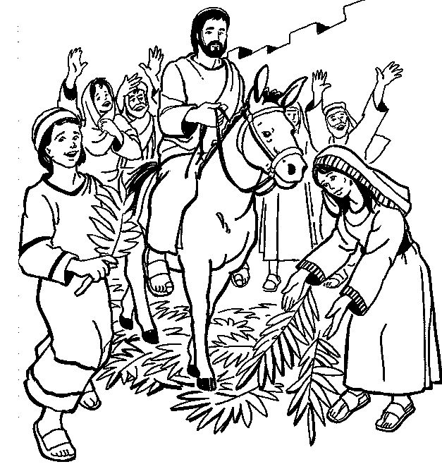 Palm Sunday Drawing