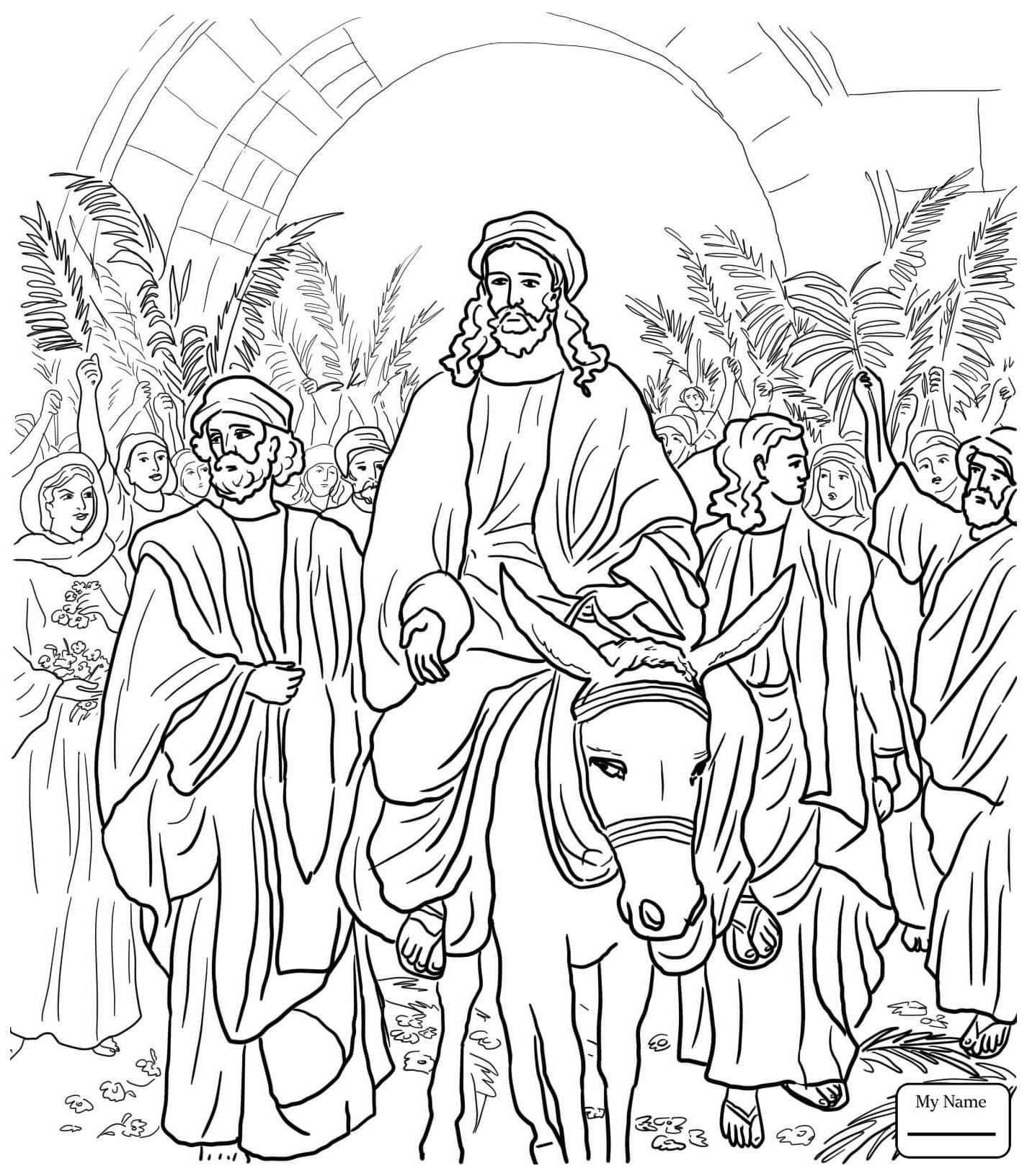 1425x1632 Jesus Entry Into Jerusalem Palm Sunday Holidays Palm Sunday