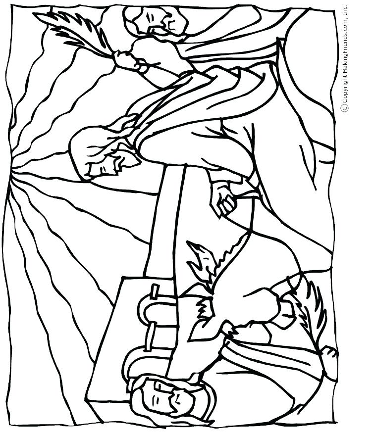 751x873 Palm Sunday Coloring Pages Fresh Palm Coloring Page