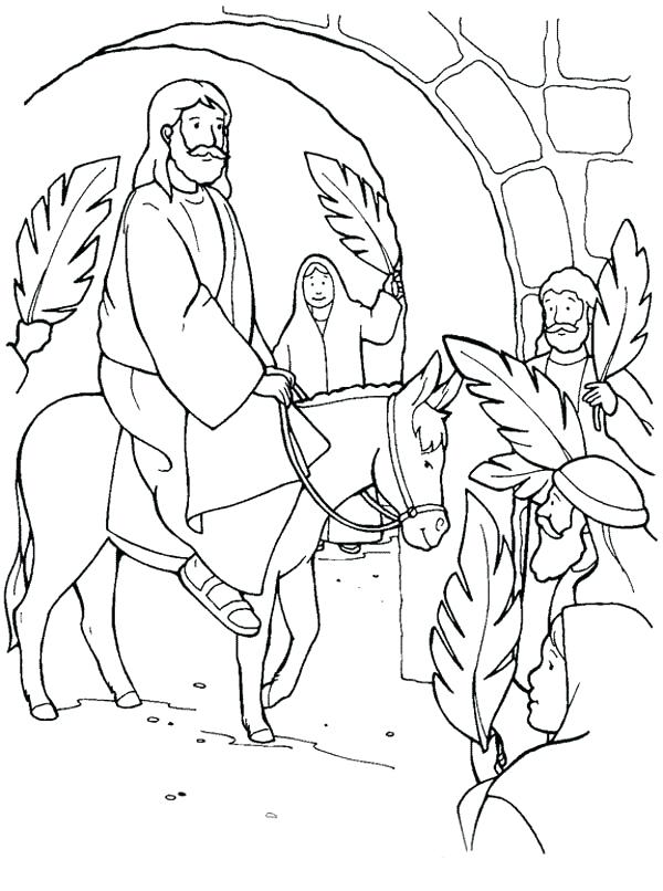 600x806 Palm Sunday Coloring Pages Kids Drawing Of Palm Coloring Page Palm