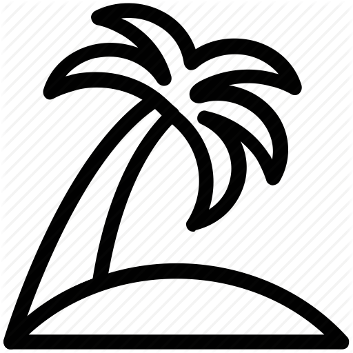 512x512 Arecaceae, Beach Tree, Coconut Tree, Palm, Palm Tree Icon Icon