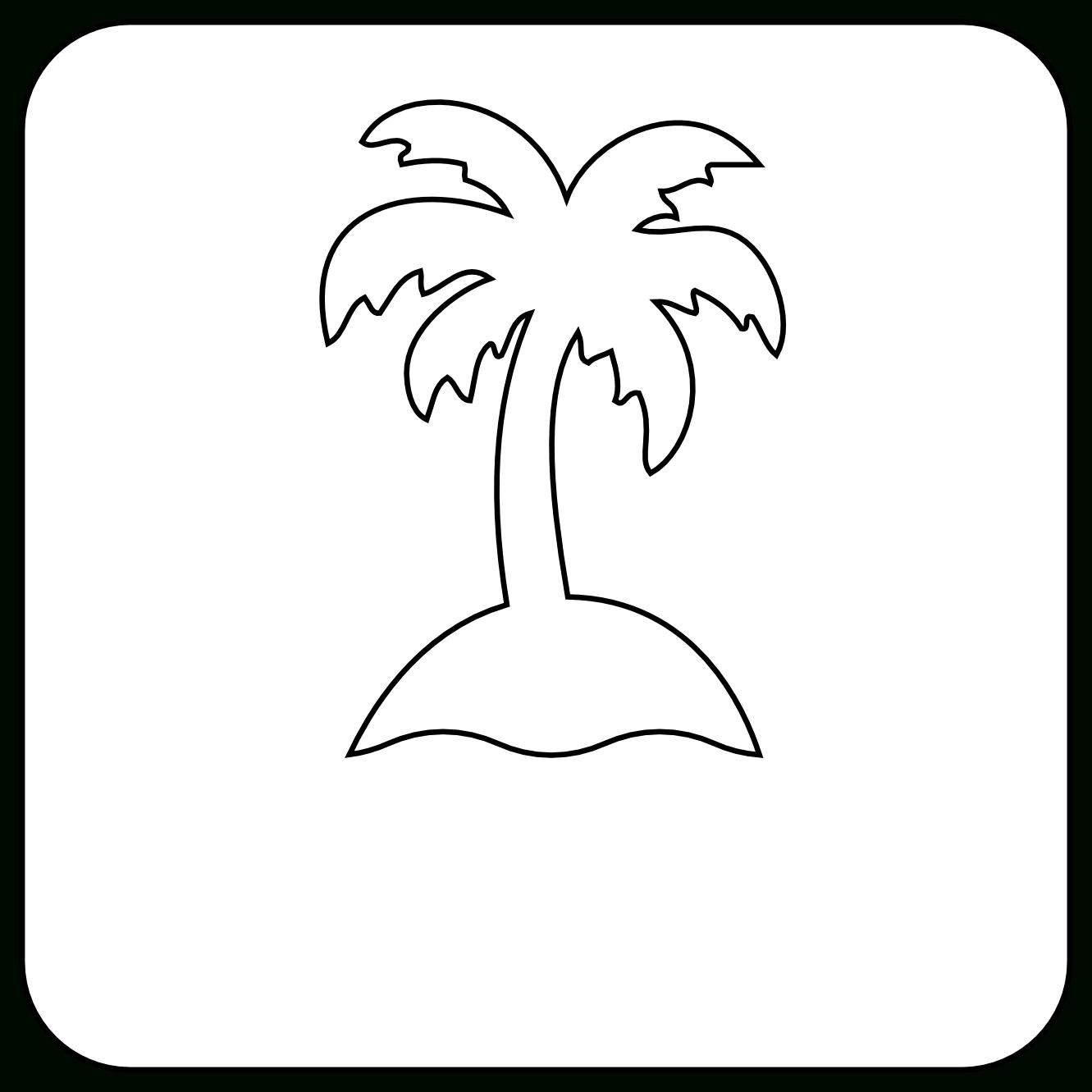 1331x1331 Palm Tree Drawing Simple Happy Birthday Ideas