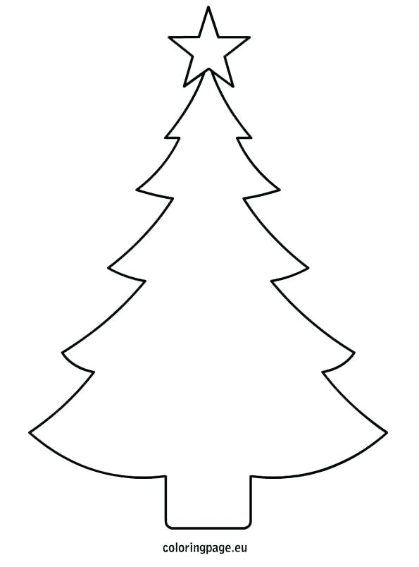 595x804 Outline Of A Tree Best Tree Coloring Page Ideas On On Outline