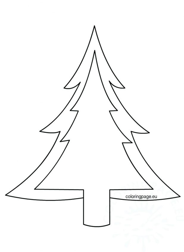 618x845 Bare Tree Vector Outline Trees Derby Of For Colouring Pine Pine