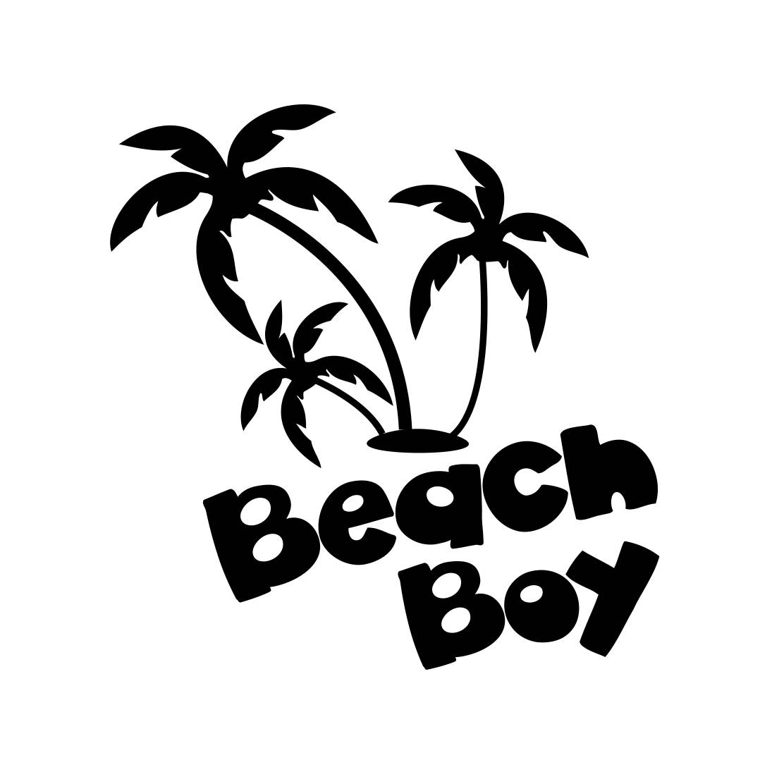 1078x1078 Beach Boy Palm Tree Phrase Graphics Svg Dxf Eps Png Cdr Ai Pdf