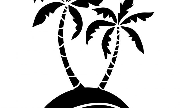 630x380 Simple Palm Tree Silhouette Archives