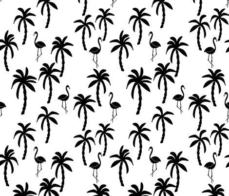 470x402 Palm Tree Black And White Palms Palm Trees Palm Print Flamingo