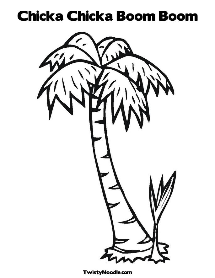685x886 Best Photos Of Palm Tree Template Chicka Boom