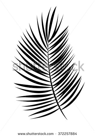 327x470 Tree Leaves Clipart Black And White