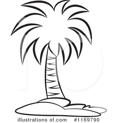 400x420 Palm Tree Clipart Black And White Hd Letters