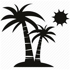 225x225 Image Result For Illustration Of Palm Tree With Coconuts And Sun