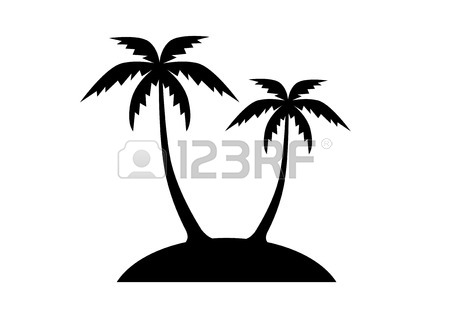 450x318 Palm Tree Icon Royalty Free Cliparts, Vectors, And Stock