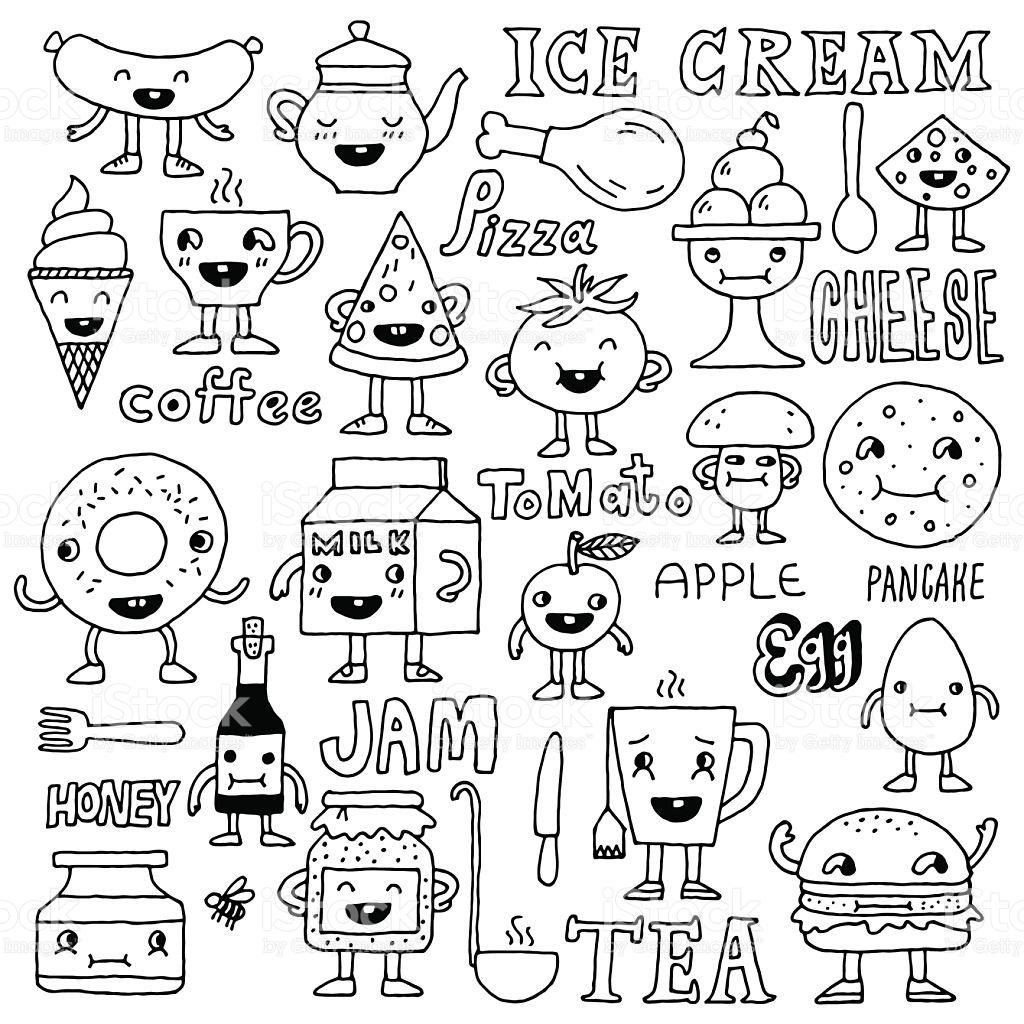 1024x1024 Drawn Pancake Doodle